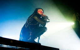 Marylin Manson-Konzert stockfoto