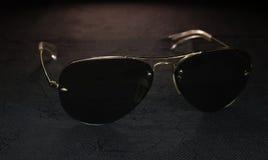 Marynarka wojenna okulary przeciwsłoneczni zdjęcia royalty free