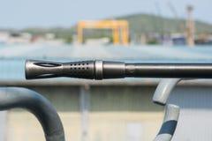 Marynarka wojenna pancernika maszynowy pistolet Zdjęcie Royalty Free
