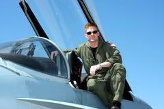 marynarka wojenna pilot Fotografia Stock
