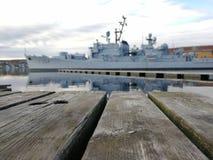Marynarki wojennej łódź Obrazy Royalty Free