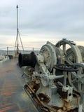 Marynarki wojennej bitwy statek Obrazy Royalty Free