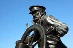 Marynarki wojennej mola Chicago statua Zdjęcia Stock