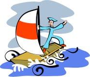 marynarz royalty ilustracja