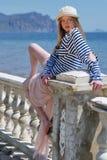 marynarzu dziewczyna Zdjęcia Royalty Free