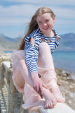 marynarzu dziewczyna Obrazy Royalty Free
