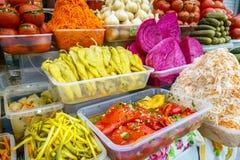 marynowane warzywa Zdjęcia Royalty Free