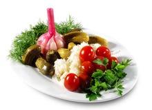 marynowane warzywa Zdjęcie Stock