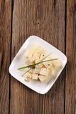 marynujący serowy feta Obraz Royalty Free