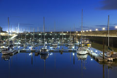 Maryport Harbour. Long Exposure shots of Maryport Harbour. Taken in November 2011 Stock Photos