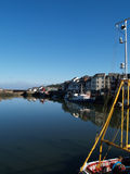 Maryport harbour Stock Image