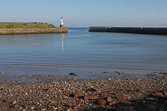 Maryport Harbour, Cumbria. View from Maryport Harbour, Cumbria, Lake District, England Stock Photos