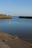 Maryport Harbour, Cumbria. View from Maryport Harbour, Cumbria, Lake District, England Stock Photography
