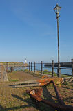 Maryport Harbour, Cumbria. View from Marport Harbour, Cumbria, Lake District, England Royalty Free Stock Image