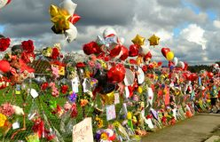 A Marysville Pilchuck School Shooting Memorial Royalty Free Stock Image