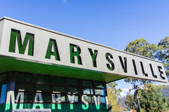 Marysville tourist information office Stock Images