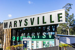 Marysville tourist information office Royalty Free Stock Image