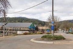Marysville-Wiederaufbauen Stockbilder