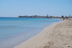 Marzamemi Beach, Sicily, Italy Stock Images