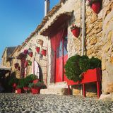 Marzamemi. Sicilian small house Stock Images
