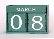 8 Marzec obrazy stock