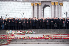 Marzec godność w Kijów Zdjęcie Stock