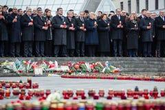Marzec godność w Kyiv Fotografia Royalty Free