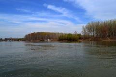 Marzec na Danube 1 Zdjęcie Royalty Free