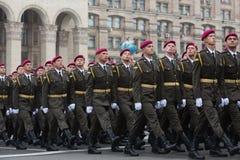 Marzec niezależność 25th rocznica niezależność Ukrai Fotografia Royalty Free