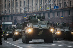 Marzec niezależność 25th rocznica niezależność Ukrai Zdjęcia Stock