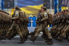 Marzec niezależność 25th rocznica niezależność Ukrai Obraz Stock