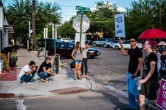 Marzec Przeciw Racsim Tucson Obraz Royalty Free