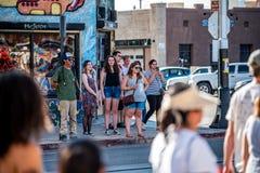 Marzec Przeciw Racsim Tucson Zdjęcie Stock