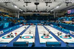 2018 Marzec 13th Peyongchang Paralympic 2018 gry w Południowym Kore obraz stock