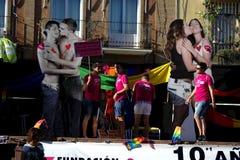 Marzec w dzień Homoseksualnej dumy 3 Zdjęcia Stock