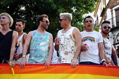 Marzec w dzień Homoseksualnej dumy 21 Fotografia Stock