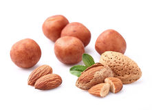 Marzipan with almonds Royalty Free Stock Photography