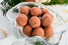 Marzipan ball Stock Photo