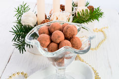 Marzipan ball Stock Photos