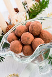Marzipan ball Royalty Free Stock Photo