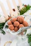Marzipan ball Stock Images