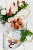 Marzipan ball Stock Photo