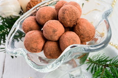 Marzipan ball Stock Images
