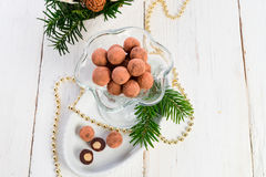 Marzipan ball Stock Photography