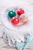 Marzipan balls Stock Images