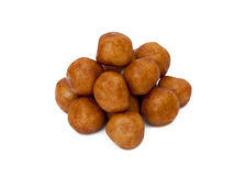 Marzipan balls Stock Photography