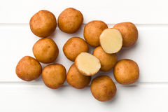 Marzipan balls Stock Photo