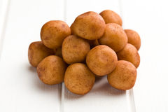Marzipan balls Royalty Free Stock Photography