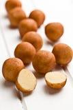 Marzipan balls Royalty Free Stock Image