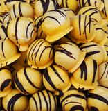 Marzipan balls Stock Photography